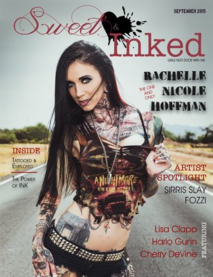Sweet & Inked Magazine September Issue ft. Rachelle Hoffman