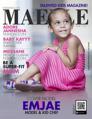 Maelle Kids Magazine Issue 1 Emjae
