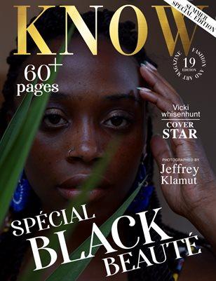 KNOW Magazine Spécial Black Beauté June 2021_Vicki