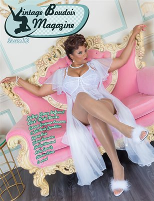 Vintage Boudoir Magazine 12 with Ebony Inferno
