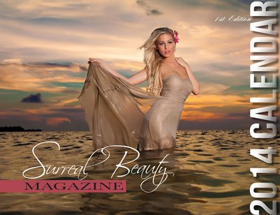 Surreal Beauty Magazine 2014 Calendar