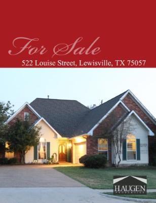 Haugen Properties - 522 Louise Street, Lewisville, TX 75057