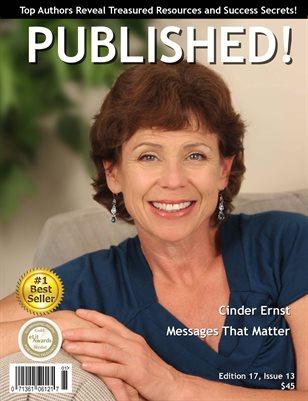 PUBLISHED! Excerpt featuring Cinder Ernst