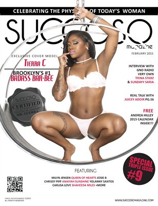 Succoso Magazine Triple Issue #9 ft Cover Model Tierra C