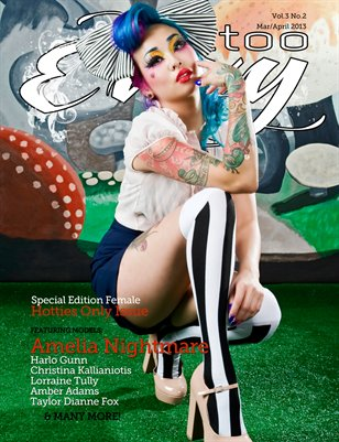 Tattoo Envy - Vol 3. No 2. - Mar/April - Special Edition Female Hotties Issue