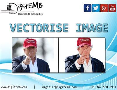 Vectorise Image