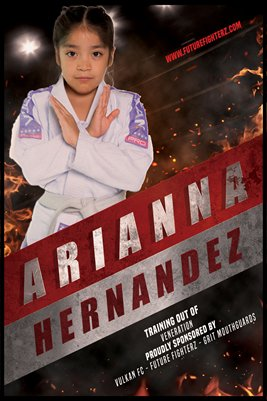 Arianna Hernandez Red Strip - Poster
