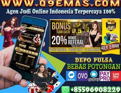Q9EMAS.COM Situs Deposit Pulsa Tanpa Potongan
