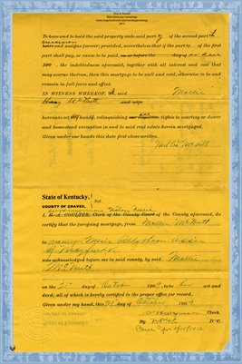(PAGES 3-4) Mortgage, Mary McNutt to Y.M.B.H. Assn., Graves County, Kentucky