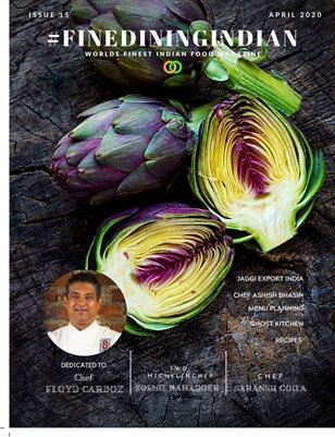Indian cuisine Magazine April 2020