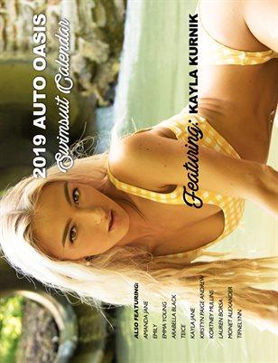 Auto Oasis Swimsuit Calendar Featuring Kayla K