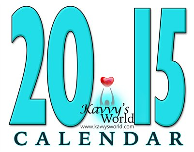 2015 Kavvy's World Calendar