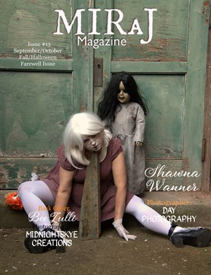 Miraj Magazine- Fall/Halloween Issue Sept/Oct #13 - Shawna Cover