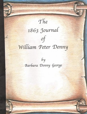 1863 Journal of William Peter Denny