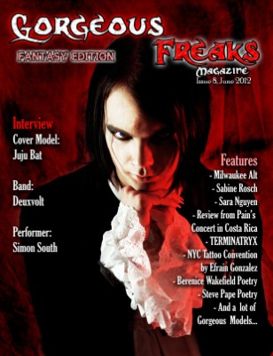 Issue 8 Fantasy Edition: Male Cover
