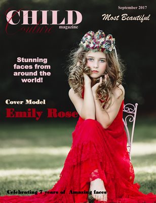 Child Couture Magazine Most Beautiful Sept. 2017