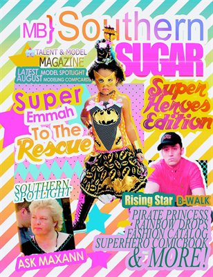 MB} Southern Sugar Talent & Model Magazine [August]