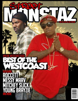 Street Monstaz Magazine -West Coast Edition issue The BoyBoy Yong Mess & Mitchy Slick