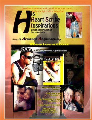 March - April 2014 His Heart Scribe Inspirations Devotional Magazine