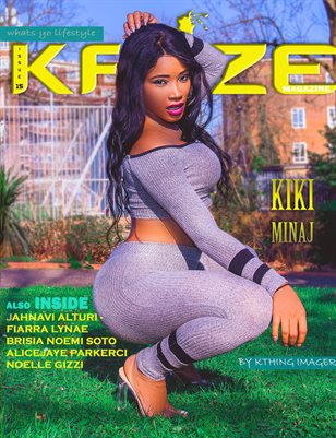 Kayze magazine issue 15 (kiki minaj)