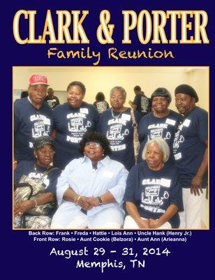 Clark Porter 2014 Family Reunion