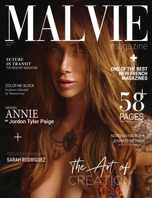 MALVIE Mag The ART of Creation Vol. 39 JULY 2020