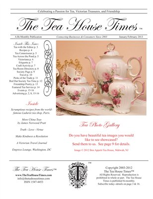 The Tea House Times Jan/Feb2013 Issue