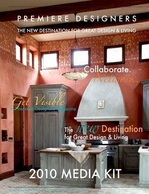 Premiere Designers Magazine 2010 Media Kit