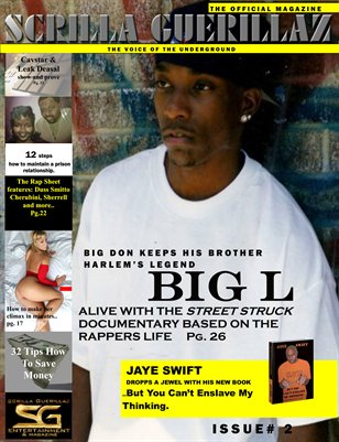 THE SCRILLA GUERILLAZ MAGAZINE ISSUE#2