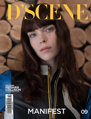 D'SCENE ISSUE 09 - MEGHAN COLLISON VOL 1
