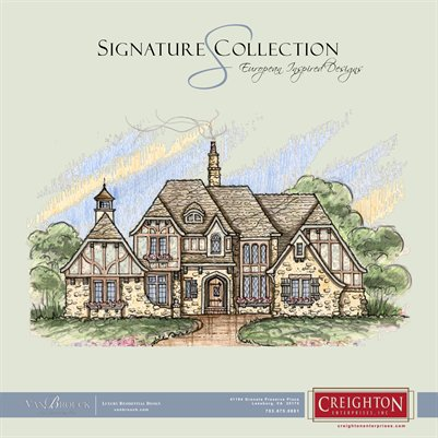 Signature Estate  Collection, 12 European Inspired Estate Plans
