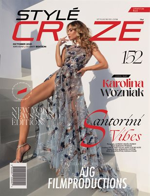OCTOBER 2021 Issue (Vol: 152) | STYLÉCRUZE Magazine