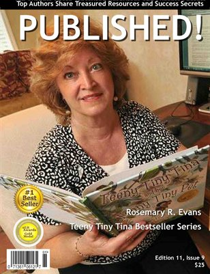 PUBLISHED! featuring Rosemary R. Evans