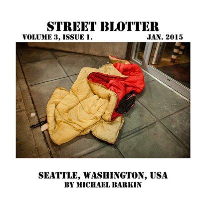 Street Blotter Volume 3, Issue 1.