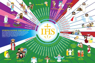 Happy Saints Liturgical Calendar 2019