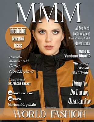 """April Monthly  """"World Fashion"""""""