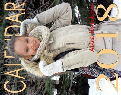 Calendar for 2018. Kulikova Alice.