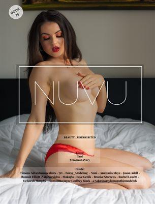 Nuvu Magazine Nude Book 70 Featuring Veronica LaVery