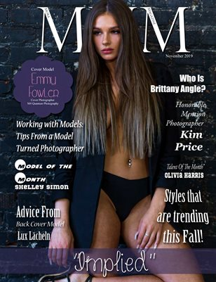 "November Monthly ""Implied"" Issue"