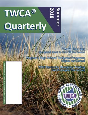 TWCA Quarterly Summer 2018