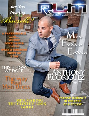 Rough Lounge Magazine Mens Fashion Edition