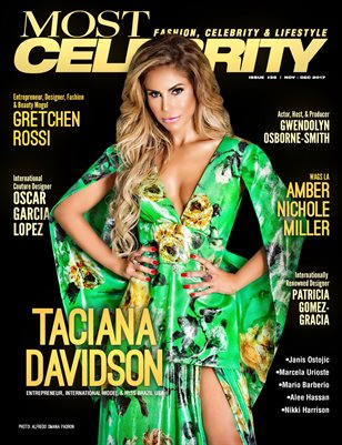 Most Magazine – Celebrity NOV-DEC'17 ISSUE NO.35