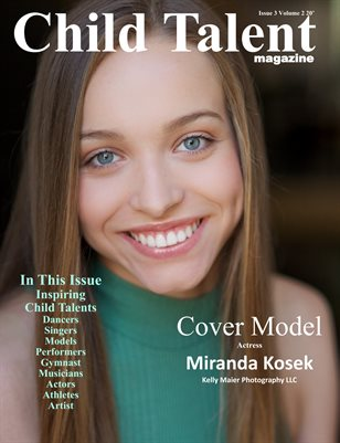 Child Talent magazine Issue 3 Volume 2 2020