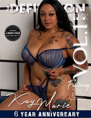 TDM:INK 6yr Anniversary Kay Marie Vol.1 Cover 2