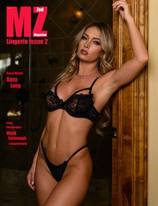 Model Zed Magazine Lingerie Issue 2