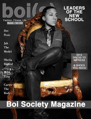 Boi(s) Magazine - Dre Pesic Cover