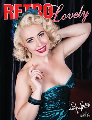 Retro Lovely No.20 - Lady Lipstick Cover
