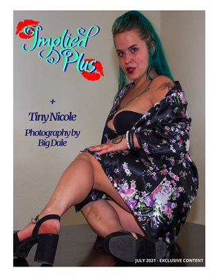 Silky Cravings Implied Plus Issue 1 Tiny Nicole