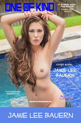 ONE OF A KIND MAGAZINE: ONE OF A KIND MAGAZINE COVER POSTER - Cover Model Jamie Lee Bauern - October 2020