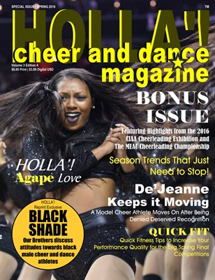 HOLLA'! Cheer and Dance Magazine 2016 BONUS Issue